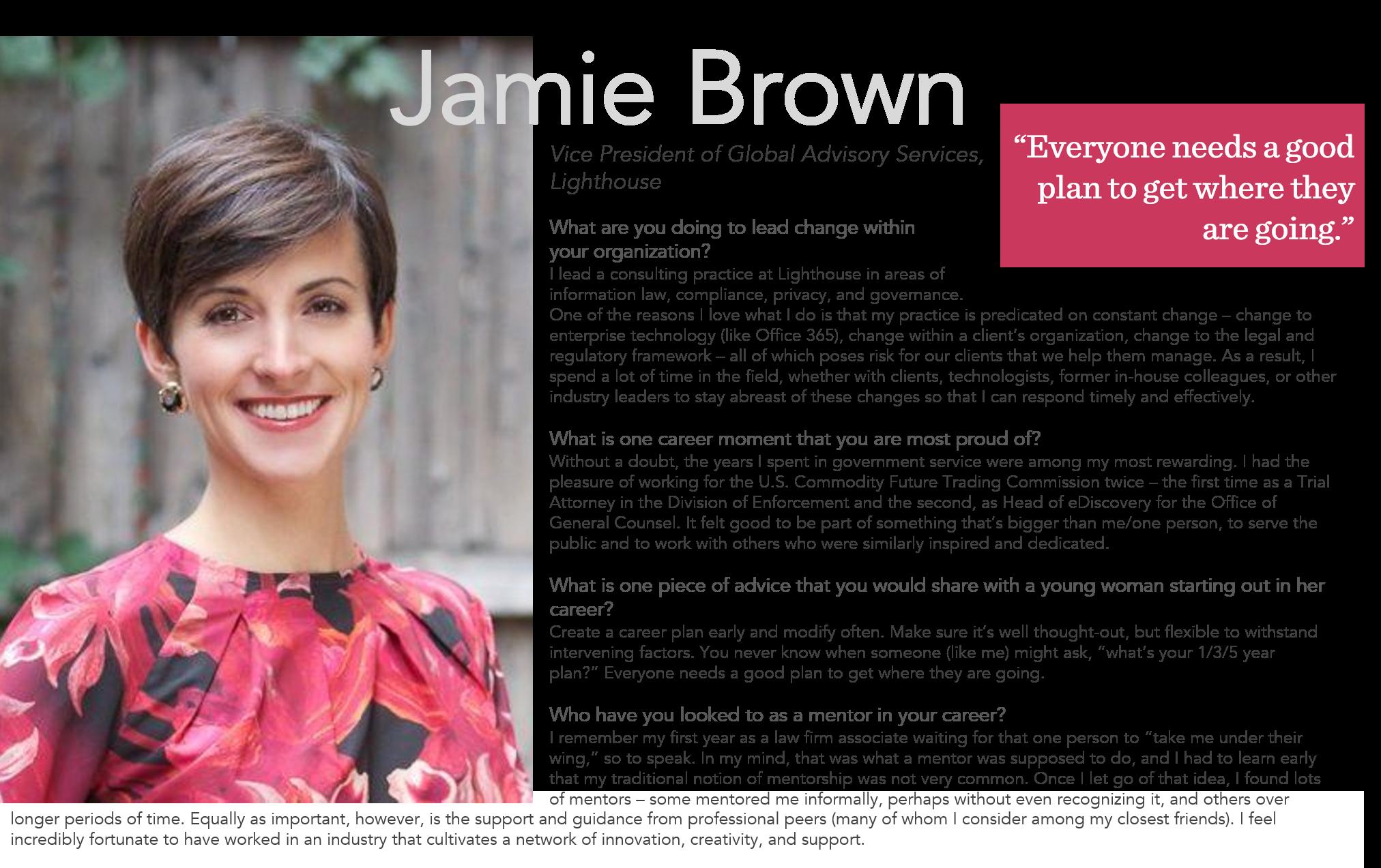 Jamie Brown Large Form